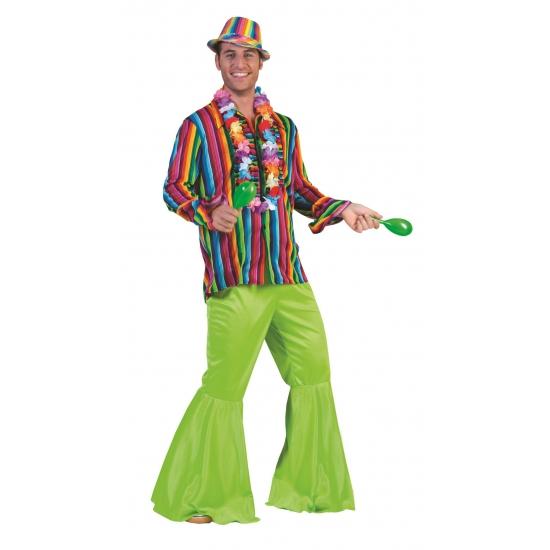Gekleurd hippie overhemd