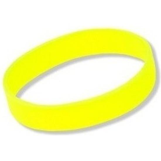 Gele armbandjes