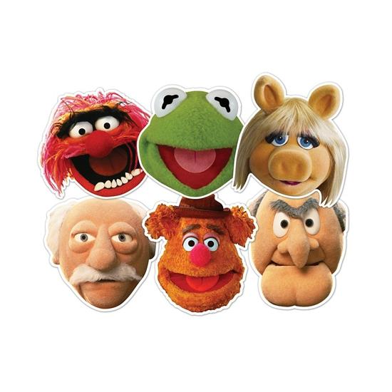 Gezichtsmasker Muppetshow figuren