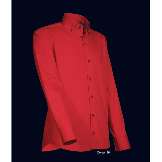 Rood Heren Overhemd.Giovanni Rood Heren Overhemd Voor Een Disco Party