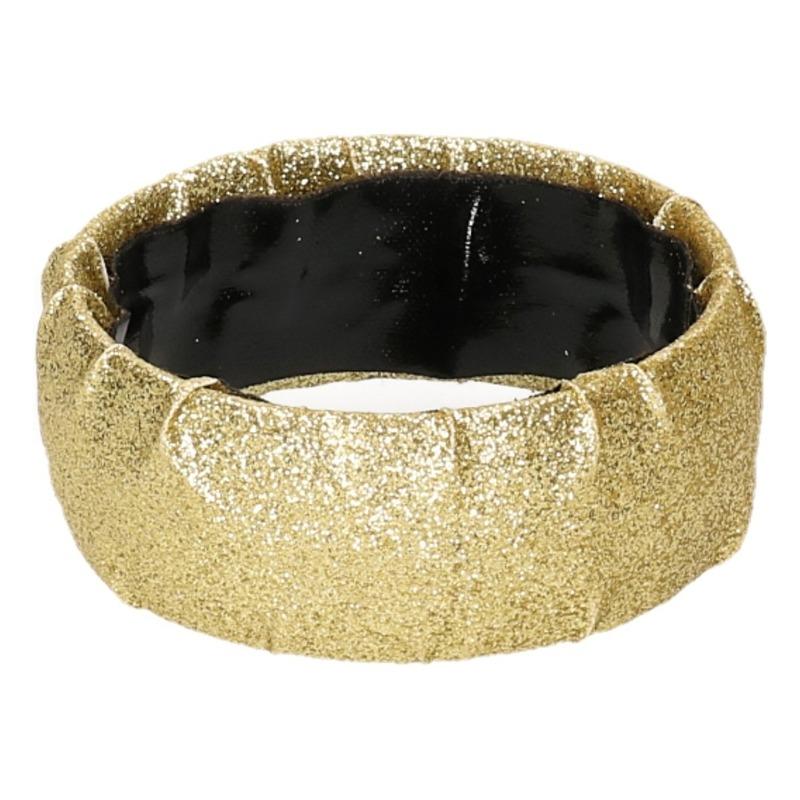 Glimmende armband goud