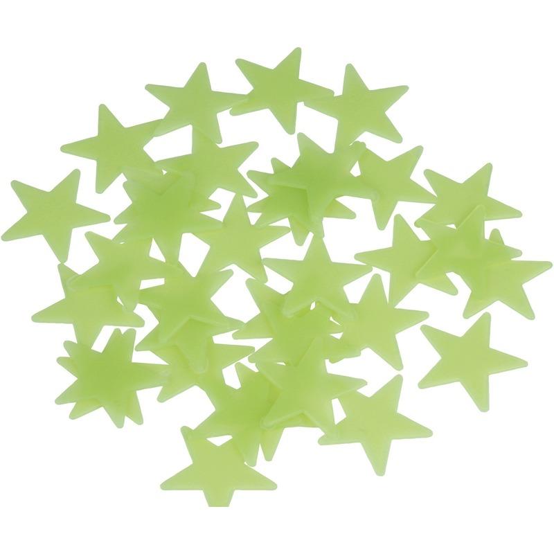 Glow in de dark sterren stickers
