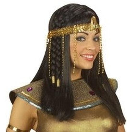 Gouden Cleopatra hoofdband voor dames