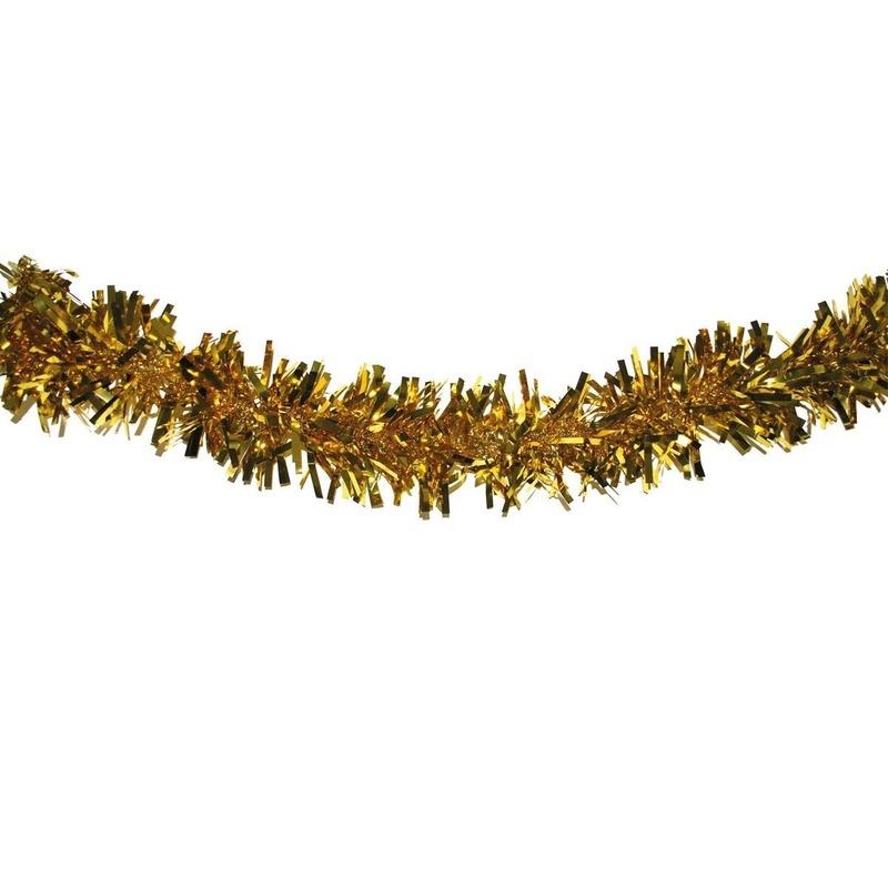 Gouden feestslingers 4 meter
