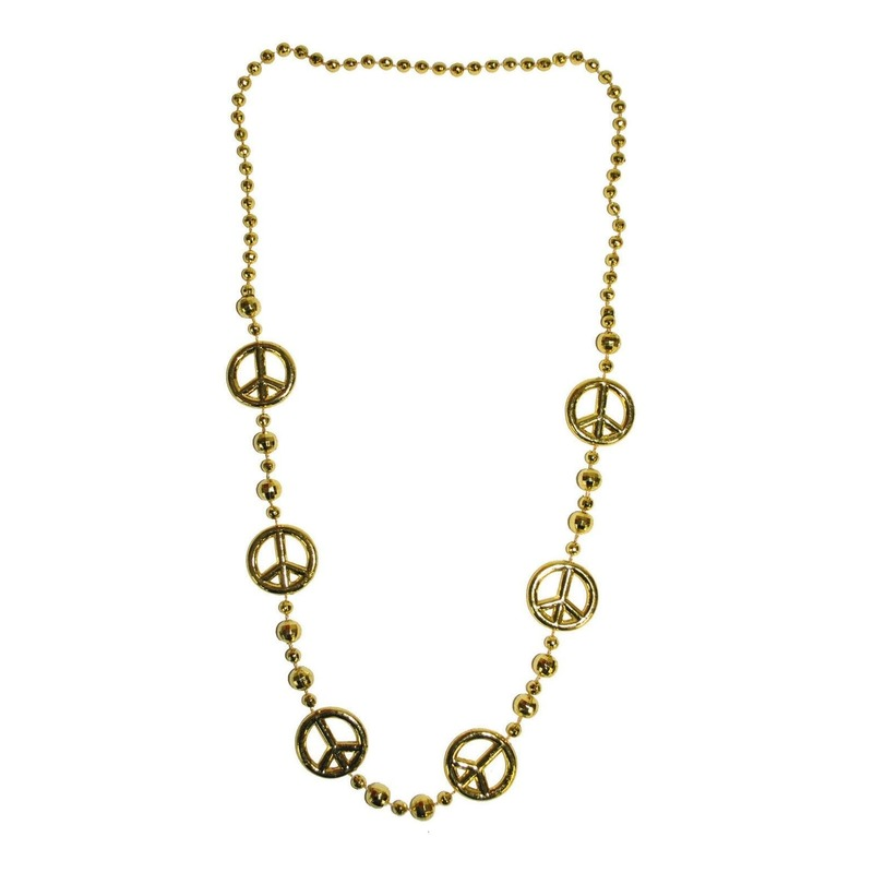 Gouden Peace ketting