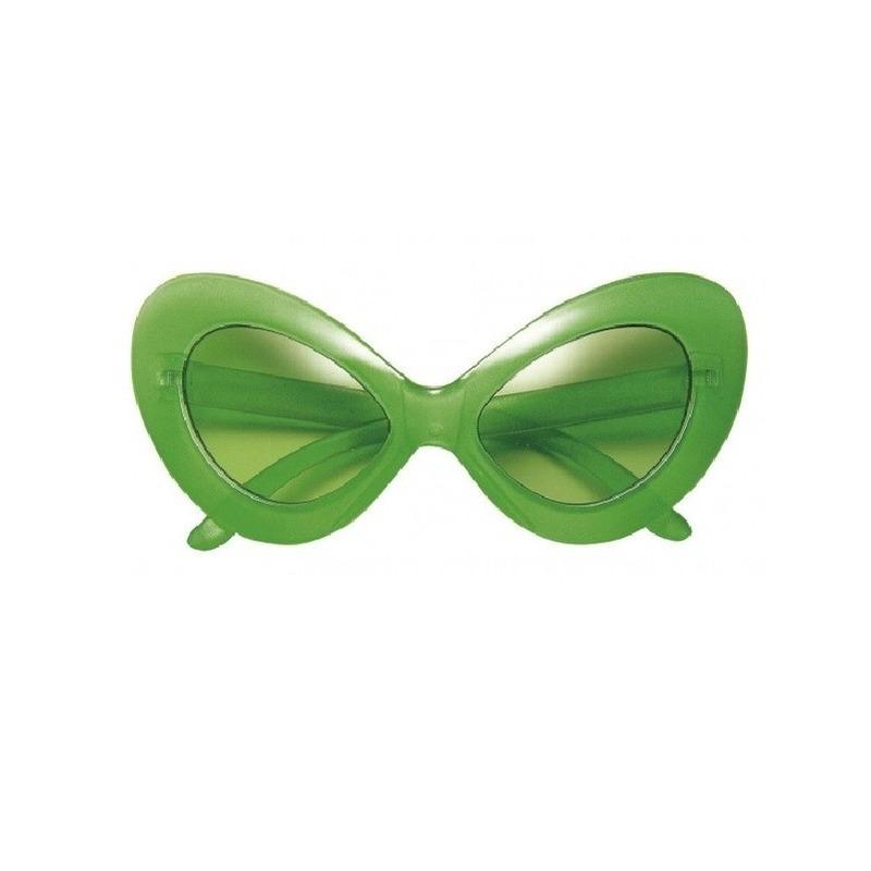 Groene Alien brillen