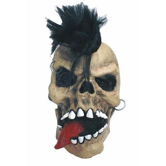 Halloween Schedel Punk Masker