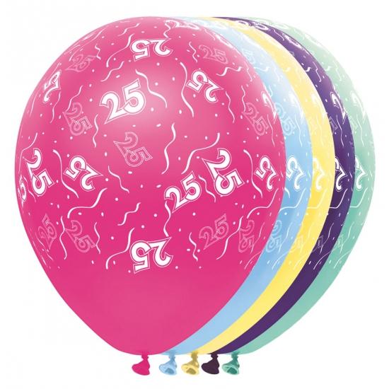 Helium leeftijd ballon 25 jaar