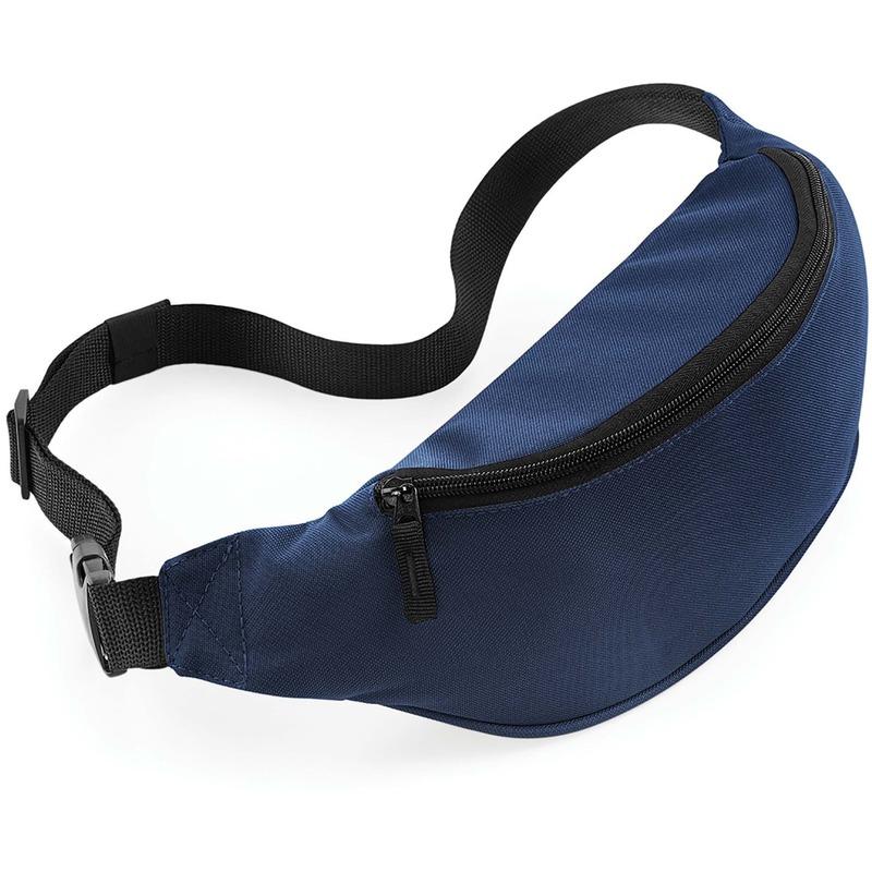 Heuptas donkerblauw met verstelbare band