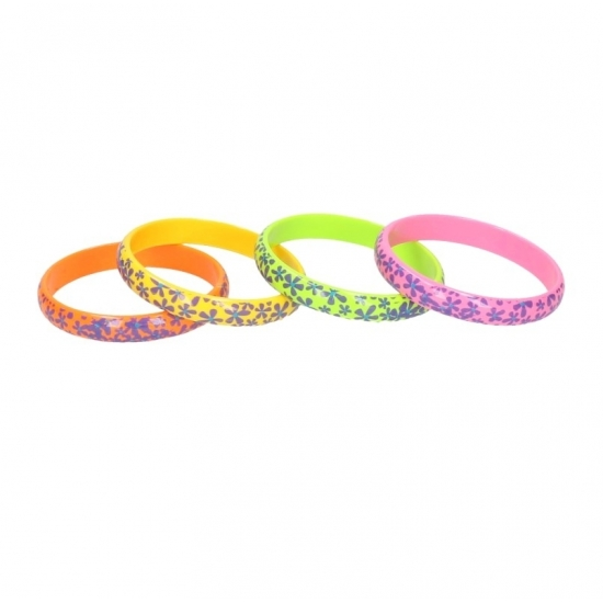 Hippie bloemen armband