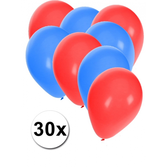 Ijslandse ballonnen pakket 30x