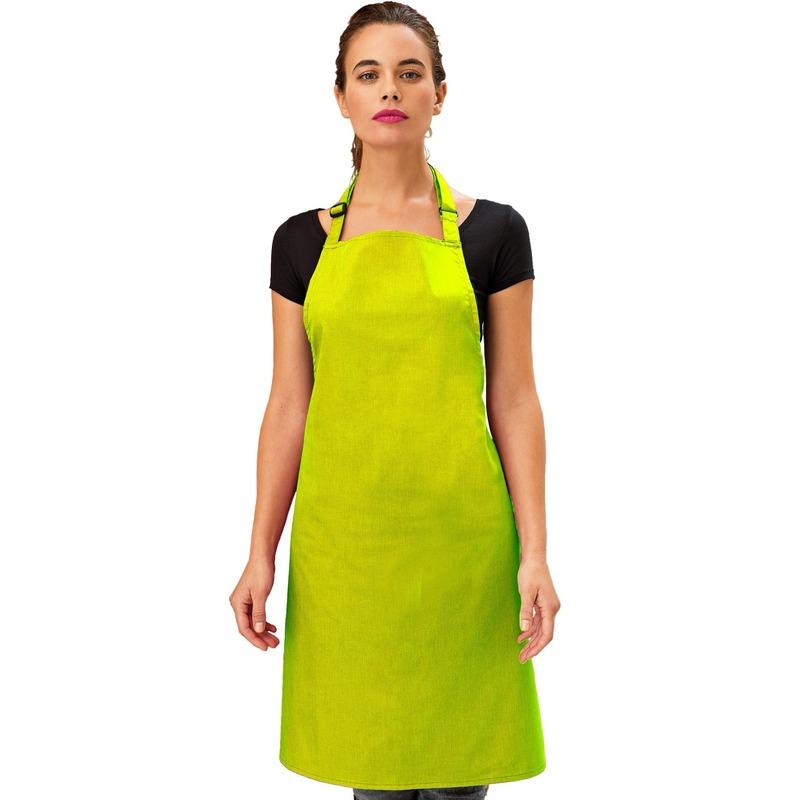 Katoenen keukenschort Premier lime