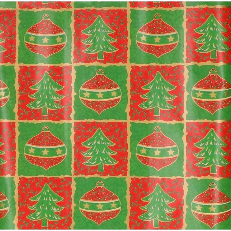 Kerst kadopapier print 15