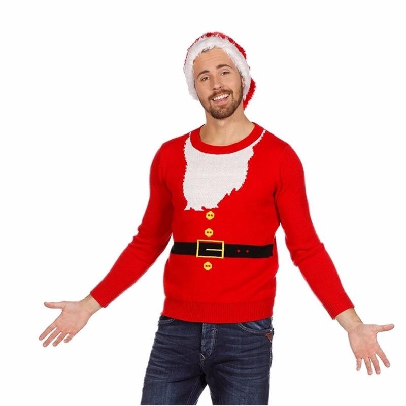 Foute Kersttrui Maat 80.Foute Kersttrui Kerstmannen Pak Voor Heren Voor Een Disco Party