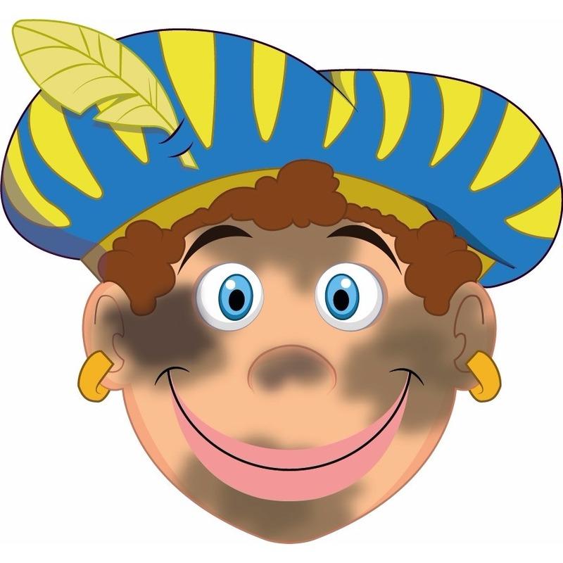 Kinder masker roetveeg Piet