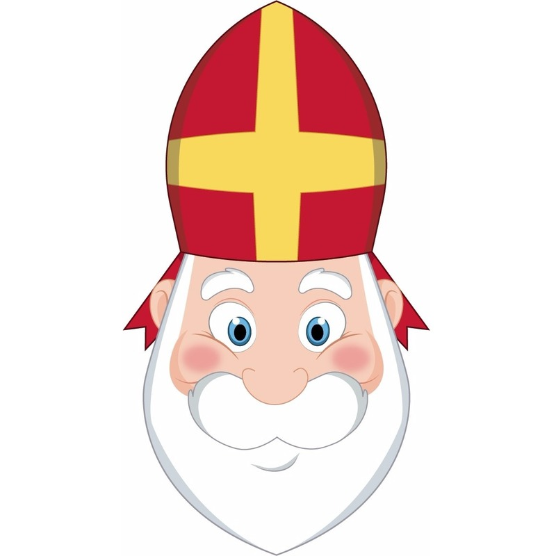 Kinder masker Sinterklaas