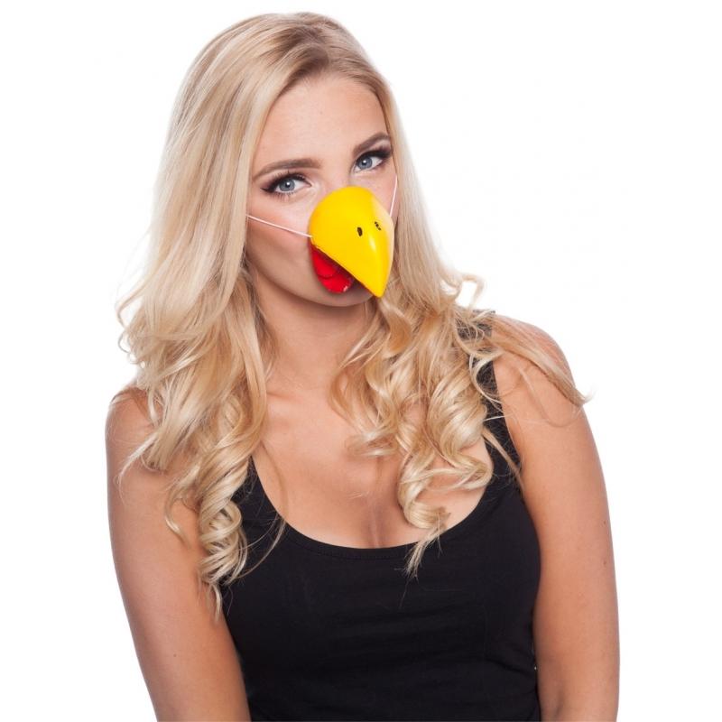 Kippen neus masker voor volwassenen