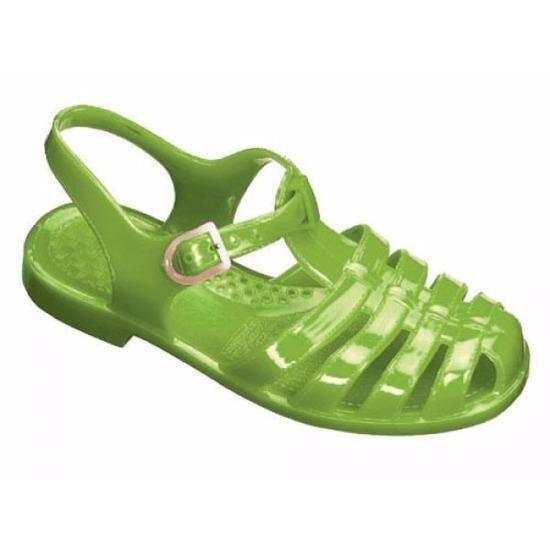 Klassieke waterschoentjes groen voor kinderen