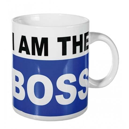 Koffie beker I am the boss 700 ml