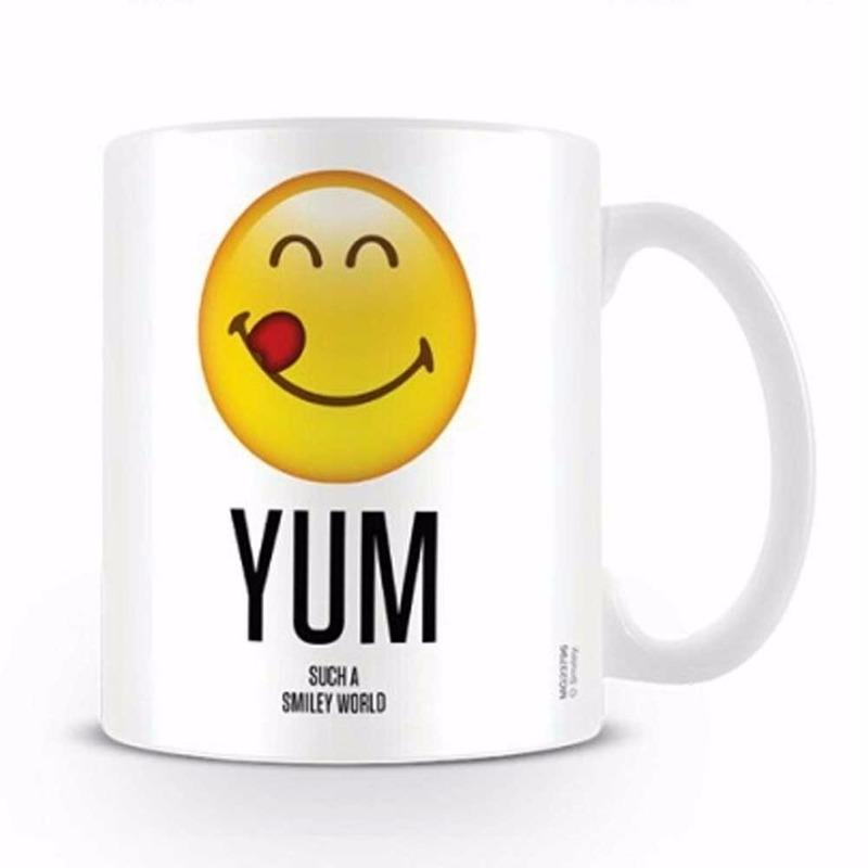 Koffiemok Yum smiley world