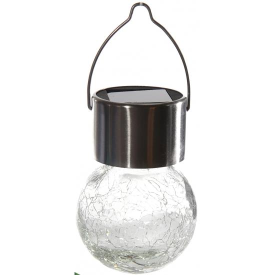 LED licht bolletje op zonne-energie 13 cm