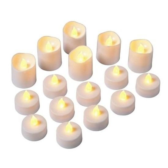LED waxinelichtjes 16 stuks