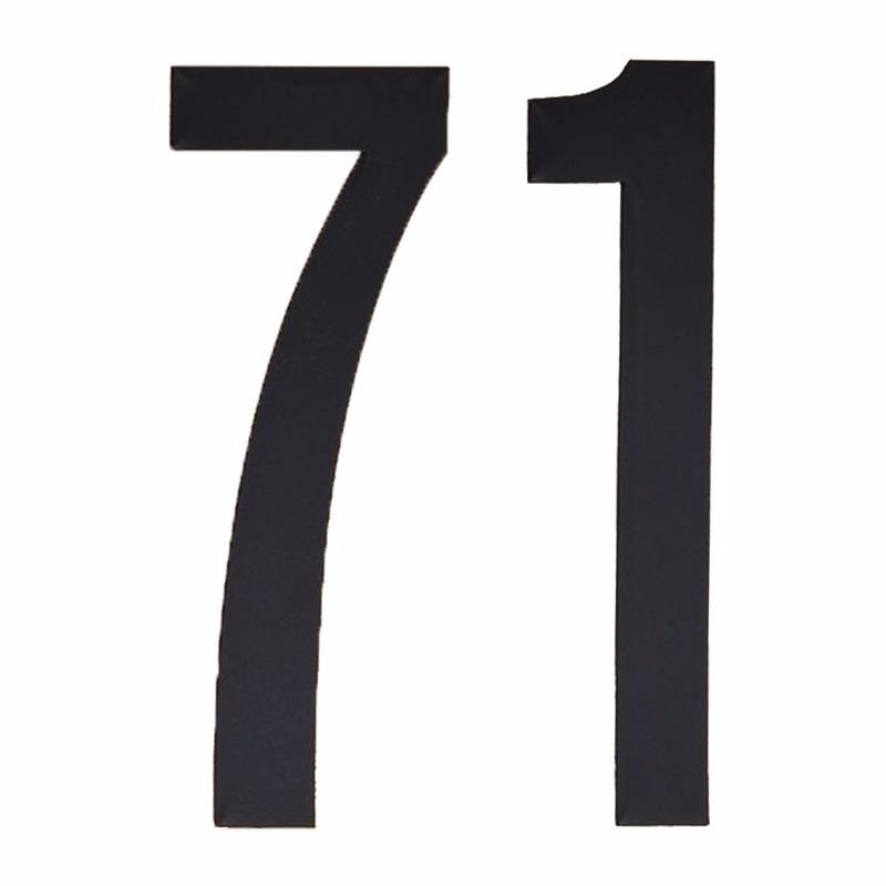 Leeftijd cijfer stickers 71 jaar