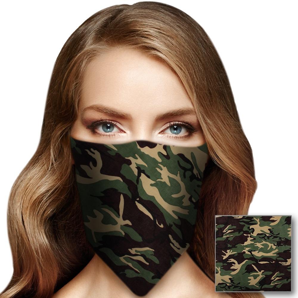Leger bandana voor volwassenen