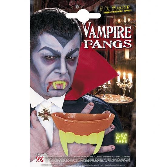 Lichtgevende vampieren gebitje