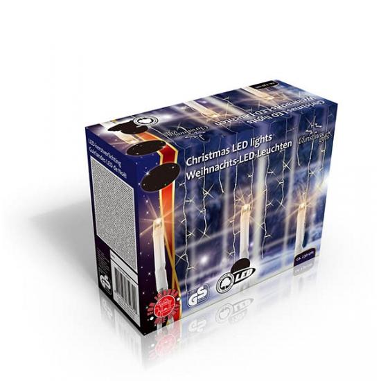 Lichtsnoer ijspegels 160 lampjes