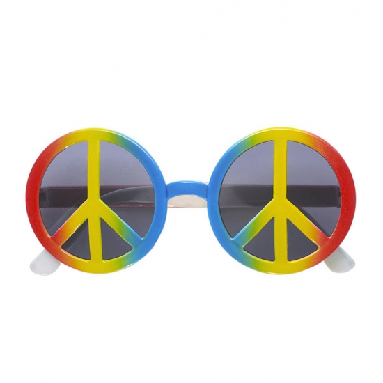 Love and Peace Sixties verkleed zonnebril