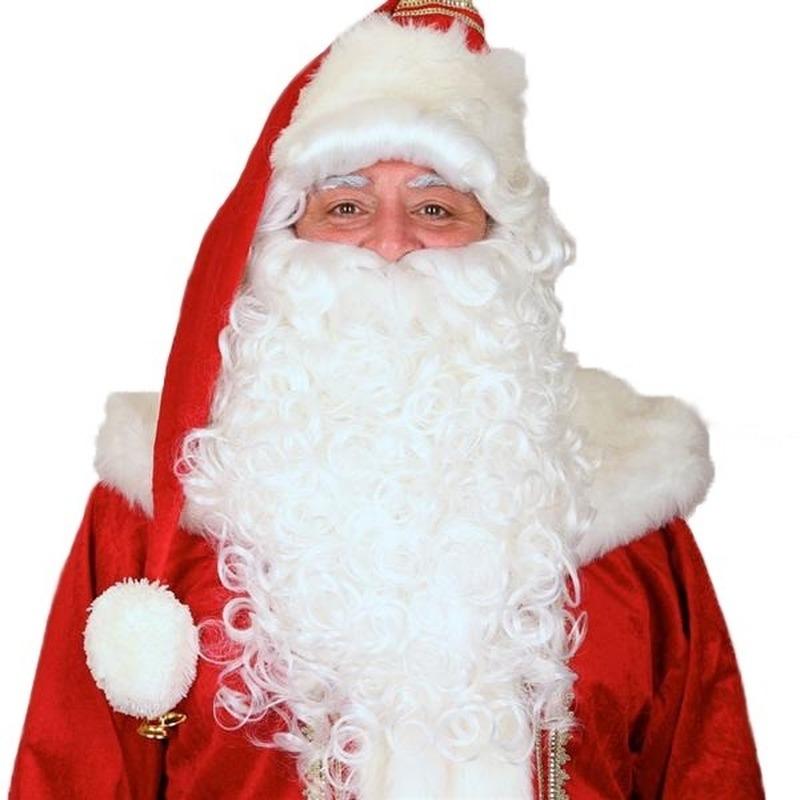 Luxe Kerstmannen baardset