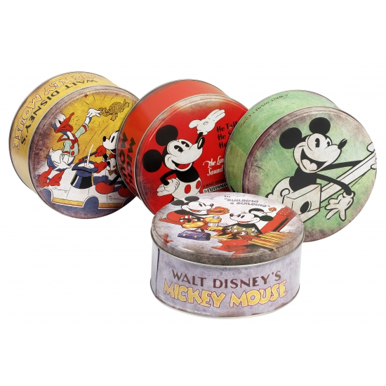 Mickey Mouse bewaarblik geel