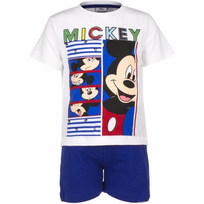 5c0d4c8fa33 Shortama Mickey Mouse blauw voor een Disco party