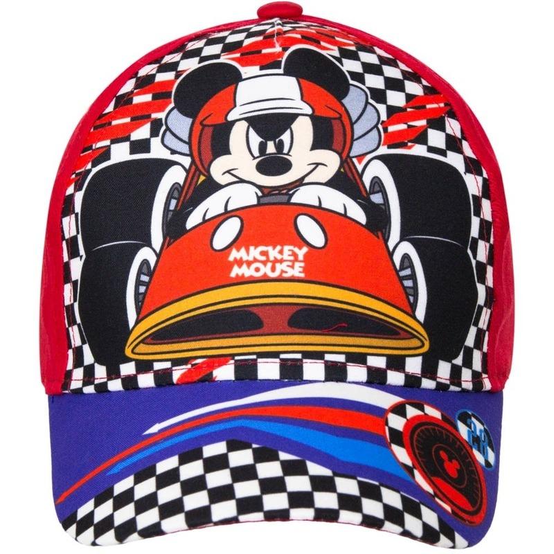 Mickey Mouse petje rood voor jongens