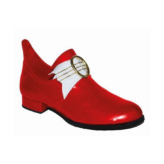 Middeleeuwse rode heren schoenen
