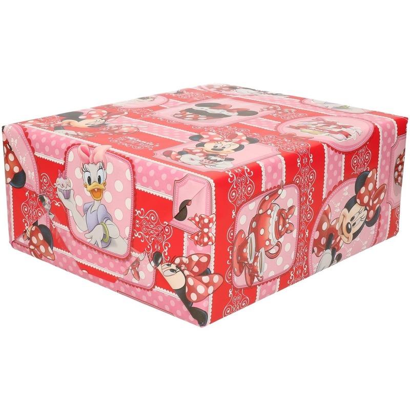 Minnie Mouse cupcake geschenkpapier
