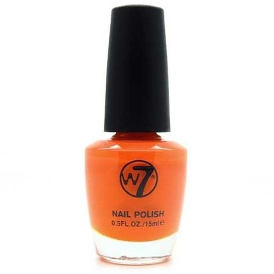 Nagellak oranje W7 15 ml