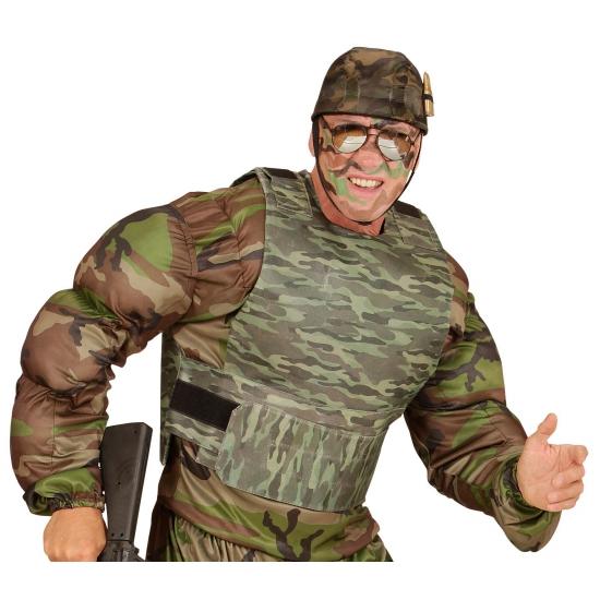 Nep kogelvrij leger vest voor volwassenen