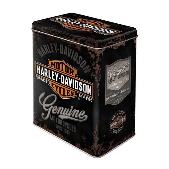 Opbergblik Harley Davidson 20 cm