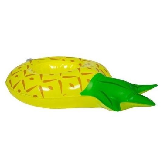 Opblaasbare blikjes houder ananas 27 cm