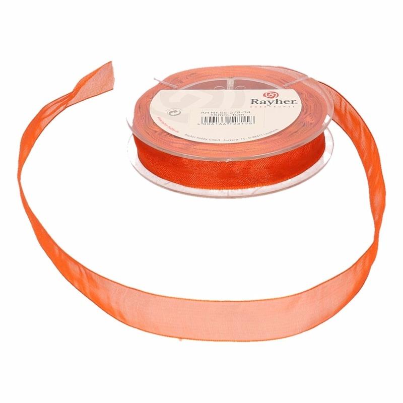 Oranje lint 10 meter