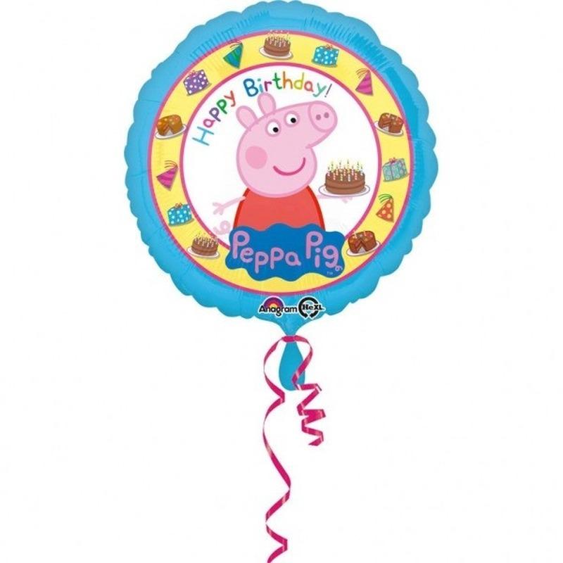 Peppa Pig folie/helium ballon 43 cm