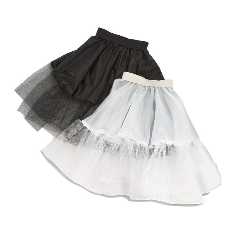 Petticoat zwart voor meisjes