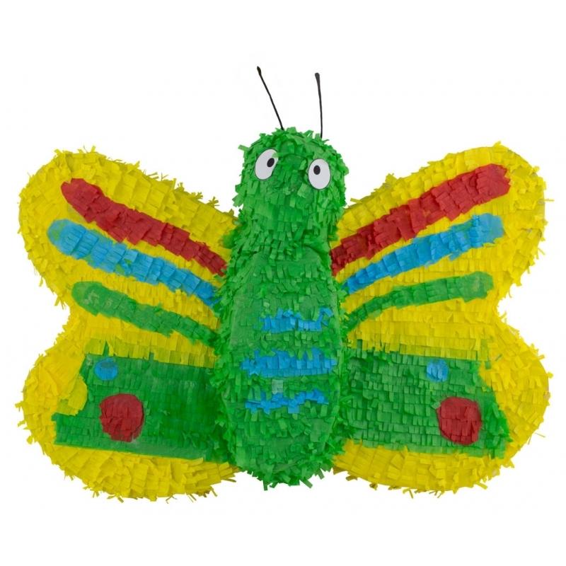 Pinata gekleurde vlinder