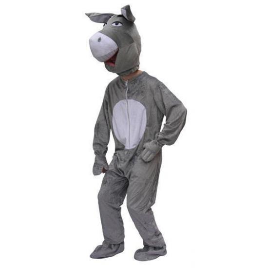 Pluche ezel pak volwassenen