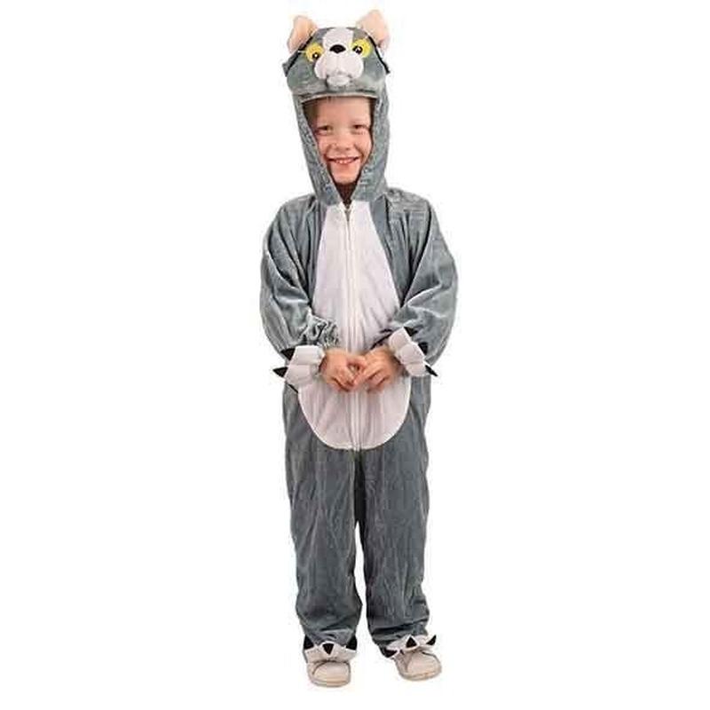 Pluche katten kostuums kinderen