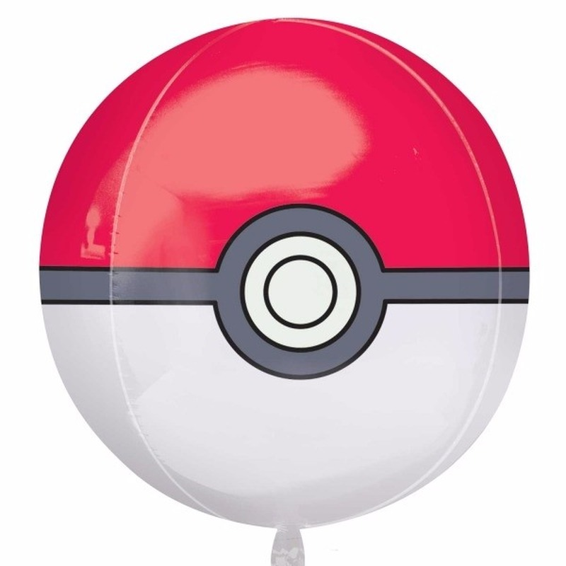 Pokeball folie ballon 40 cm