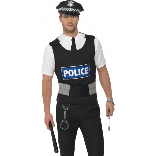 Politie kostuum met accessoires