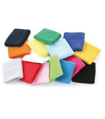 Pols zweetbandjes in diverse kleuren
